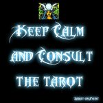 Keep calm tarot