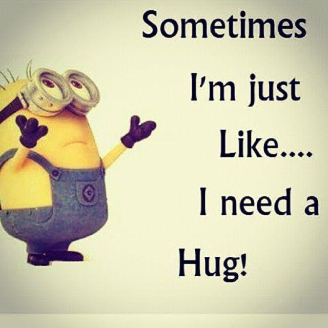 minion need a hug « Changing Times Changing Worlds