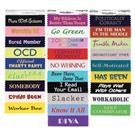 nametag ribbons